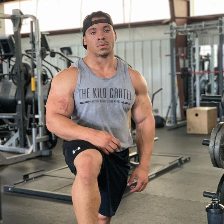 Powerlifter Ashton Rouska Totaled an Incredible 1,984lbs At His 208lbs Bodyweight