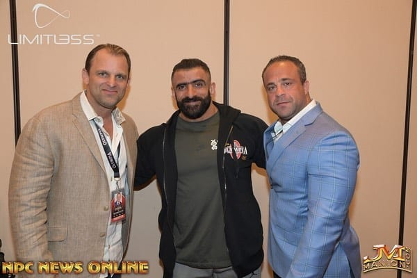 The 2019 Mr. Olympia Athlete Meeting