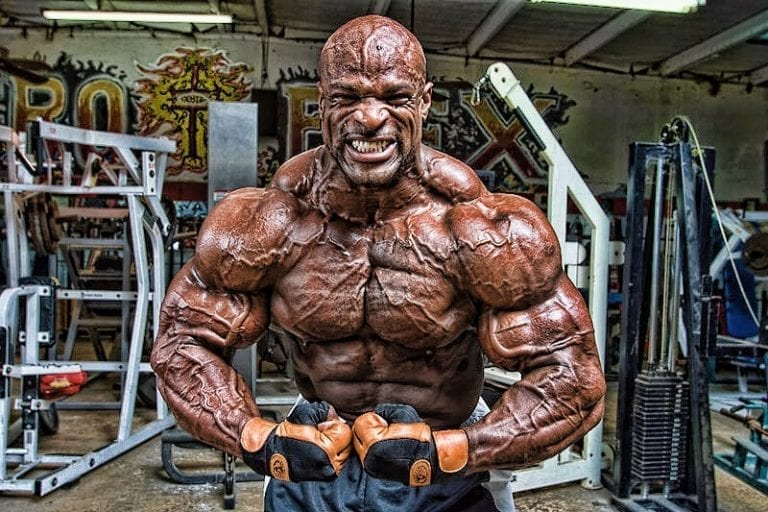 Ronnie Coleman Won't Let His Misfortunes Stop Him From Training Like A Beast!