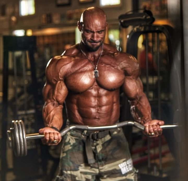 Juan Morel Looks Like An Insane Muscled Beast