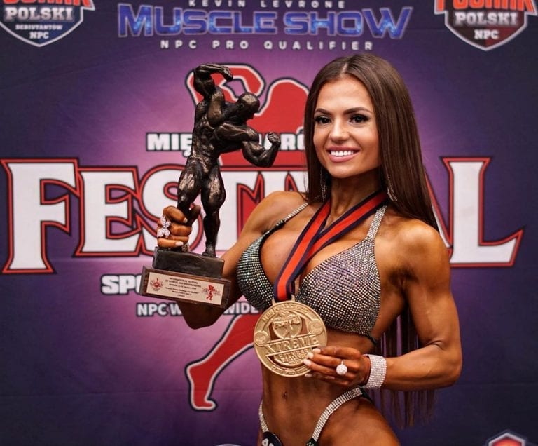 Ukrainian model Julia Mishura (photo) conquered the NPC Worldwide fitness and bodybuilding contest in Poland