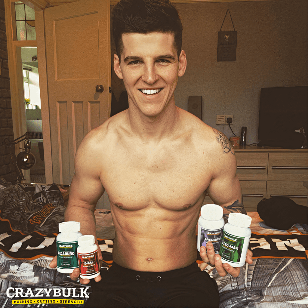 Louis Harding after using best steroids for cutting fat