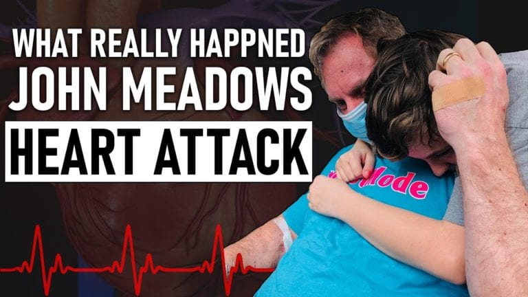 John Meadows Recorded a Video After Having a Heart Attack