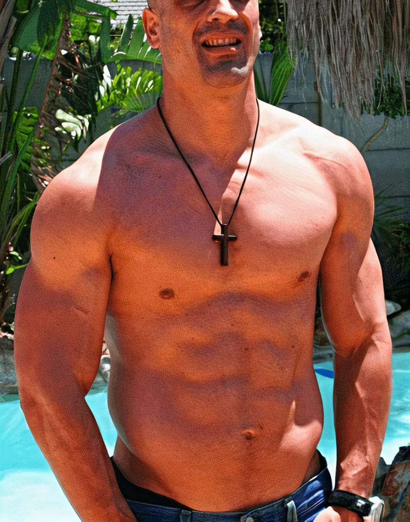 sportsman body after best weight loss steroid cycle