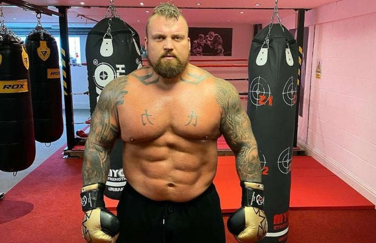 Eddie Hall Asks UK Government to Reopen Gyms