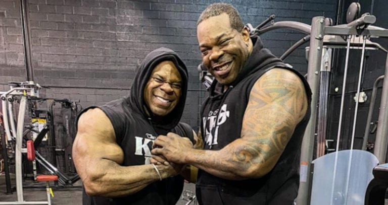 Busta Rhymes Joins Kai Greene to Work Out Together