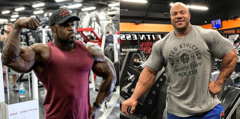Phil Heath Argues With Brandon Curry Over 2020 Mr. Olympia: 'There Is Nothing Wrong With Being a One Time Champ'