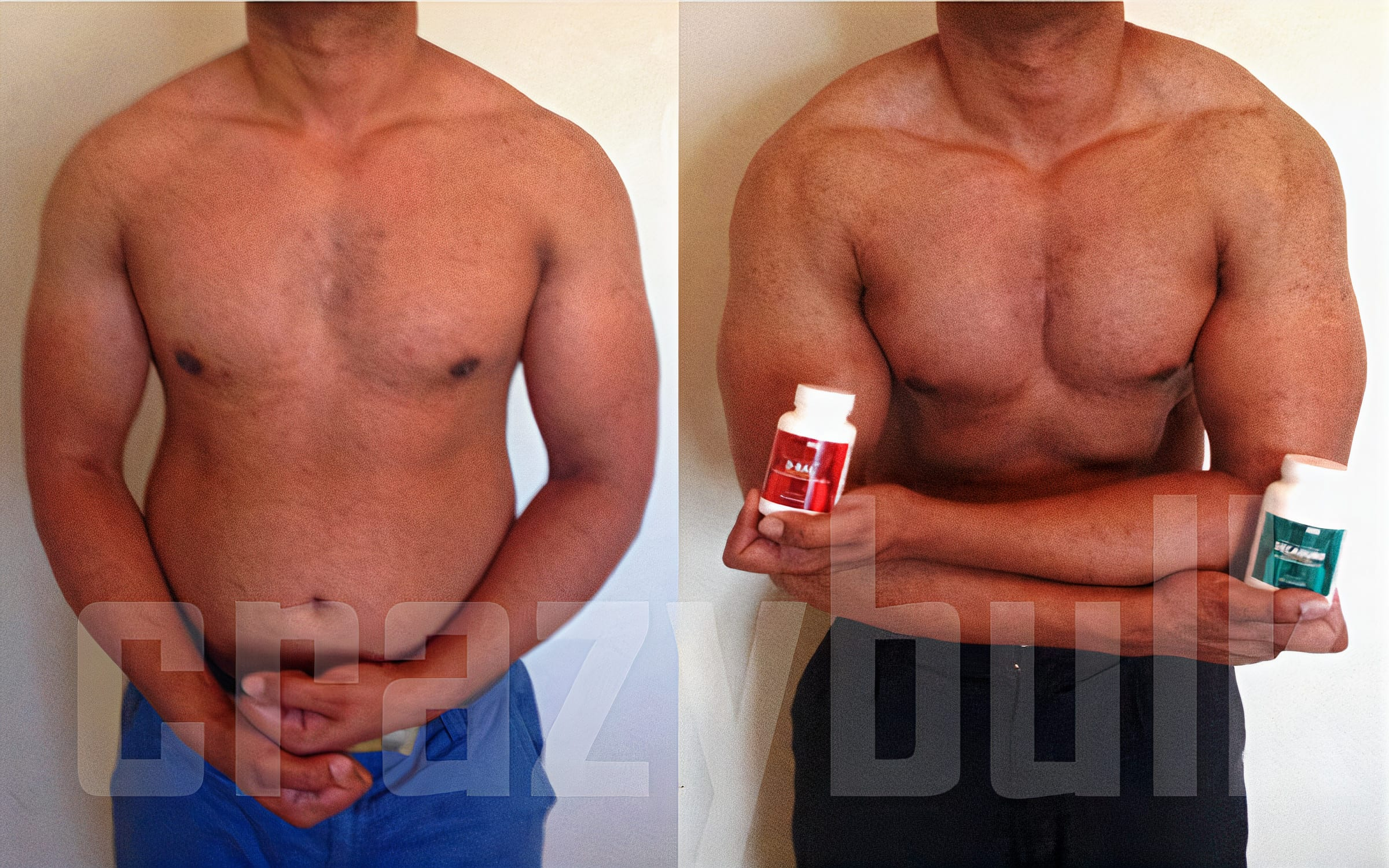 body after Decaduro natural supplement