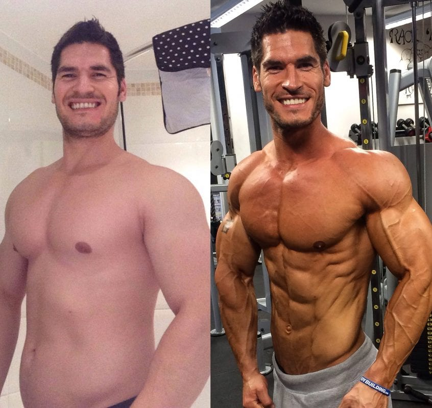 before and after effects of steroids