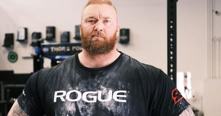 Hafthor Bjornsson Lost 30kg: The Sportsman Plans For a Boxing Debut